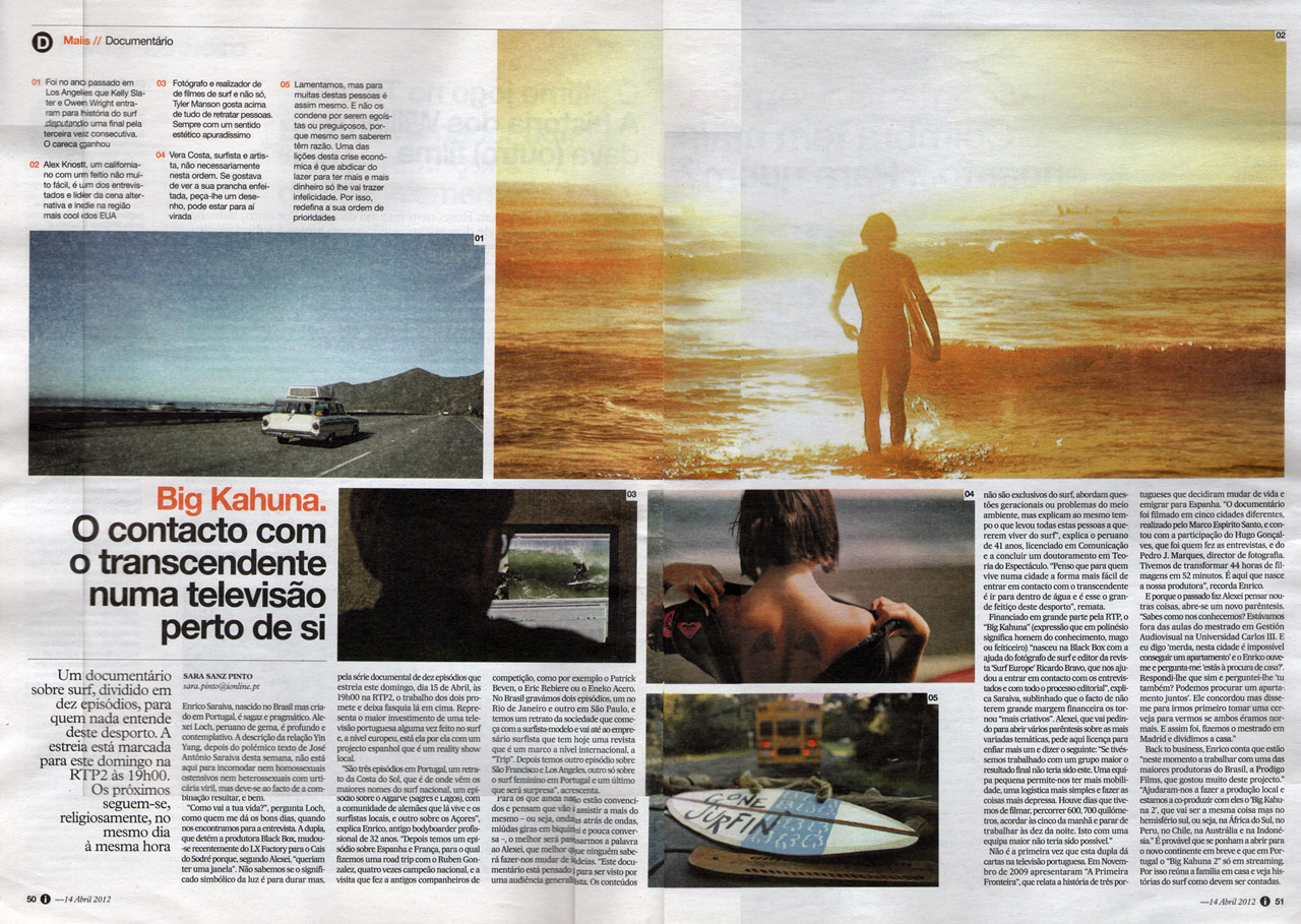 Article in I Newspaper
