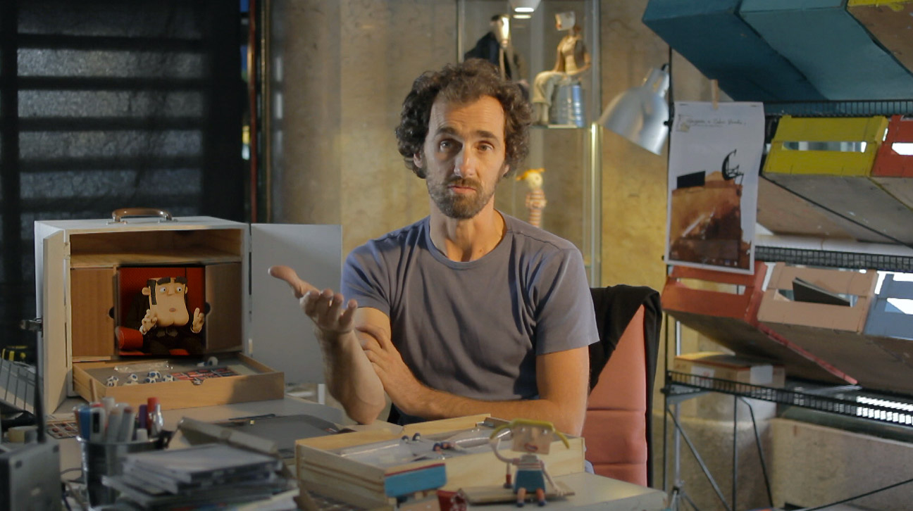 José Miguel Ribeiro - The man behind the movie.